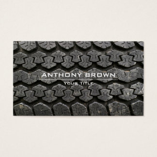 Tire Mounting and Balancing Business Card