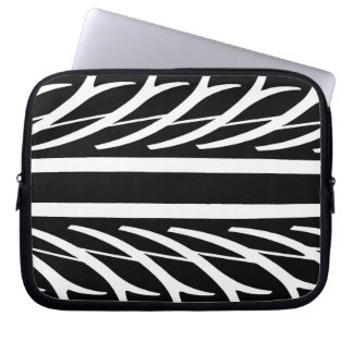 Tire Texture Abstract Pattern Laptop Sleeve