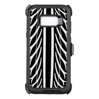 Tire Texture Abstract Pattern OtterBox Defender Samsung Galaxy S8+ Case