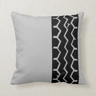 Tire Track Pillows