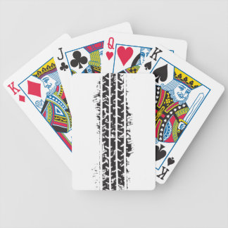 Tire Track Poker Cards