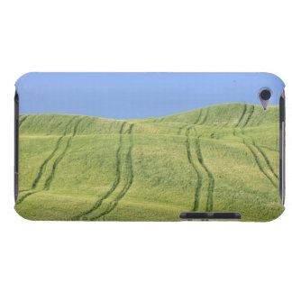 Tire Tracks in Wheat Field, Val d'Orcia, Siena Case-Mate iPod Touch Case