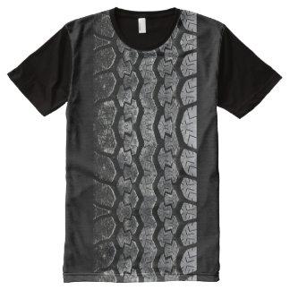 Tire Tread All-Over Print T-Shirt