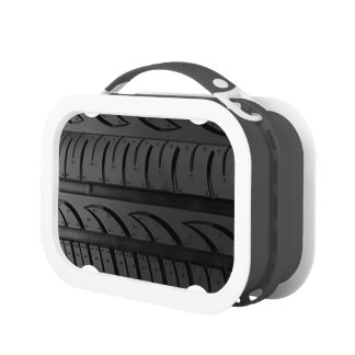 Tire Tread Lunchboxes