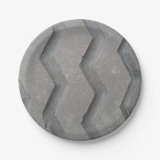 Tire Tread Paper Plate