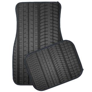 tire tread patterns car mat