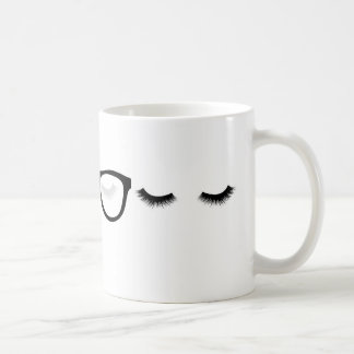 Tired Eyes Coffee Mug