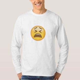Tired Face Emoji T-Shirt