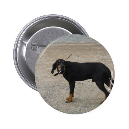 Tired Hunting Dog Pins