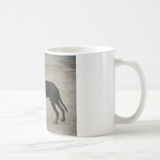 Tired Hunting Dog Mugs