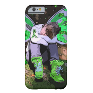 Tired Lyme Disease Warrior with Angel Wings Barely There iPhone 6 Case