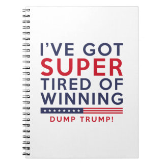 Tired Of Winning Notebook