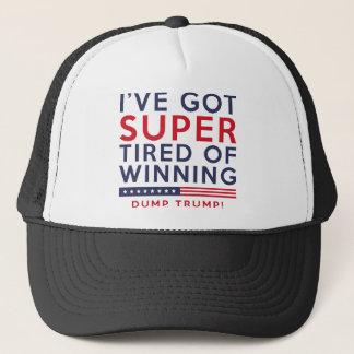Tired Of Winning Trucker Hat