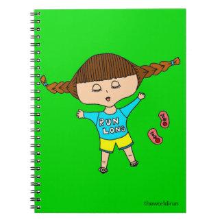 tired out runner runner's log notebook