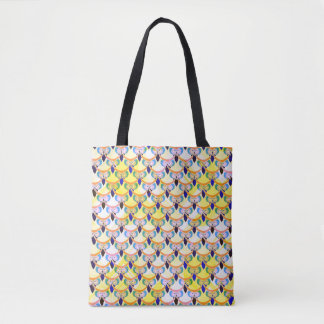 Tired owls tote bag