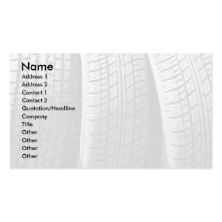 Tires Pack Of Standard Business Cards