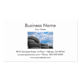 Tires Business Card