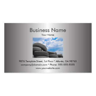 Tires Business Card Template