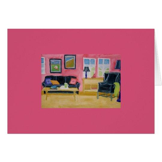 Tirrell Living Room Birthday Card