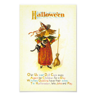 Tis Hallowe'en Photographic Print