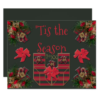 'Tis the Season 20xx Presents Card