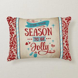 Tis the Season Christmas Accent Pillow