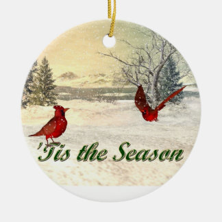 tis the season Christmas Ornament