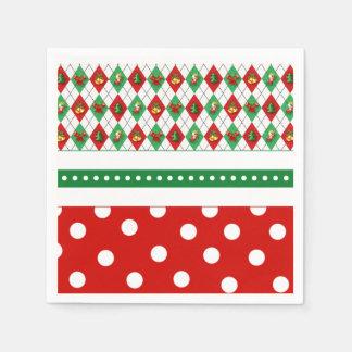 Tis The Season Christmas Party Paper Napkins Disposable Serviette