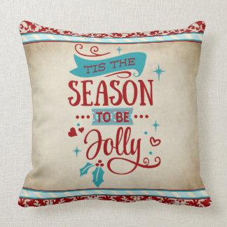 Tis the Season Christmas Pillow