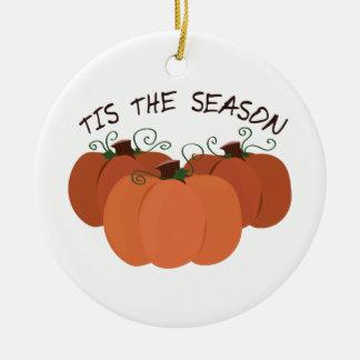 Tis The Season Christmas Ornaments