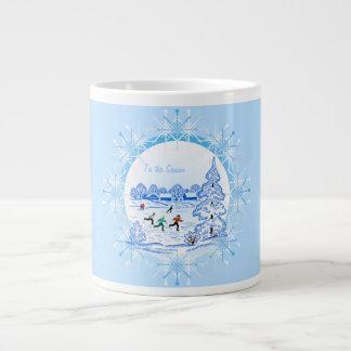 Tis the Season - 20 Oz Large Ceramic Coffee Mug