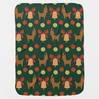 Tis the Season Pattern Baby Blanket