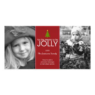 'tis the season to be JOLLY - Photo Card