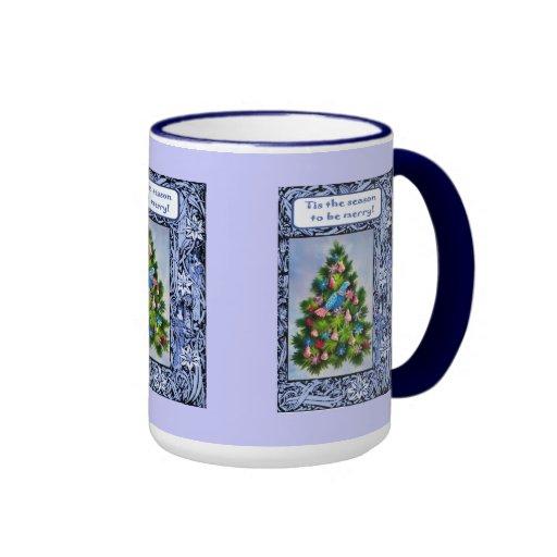 Tis the season to be merry coffee mugs