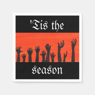 'Tis The Season Zombie Napkin Disposable Napkins