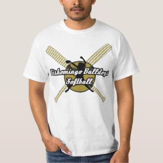 Tishomingo Bulldogs Softball T-Shirt