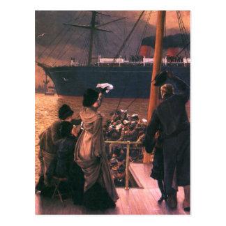 Tissot: Goodbye, on the Mersey Postcard