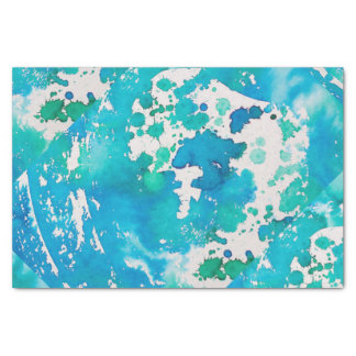 Tissue Paper In Ocean Blue