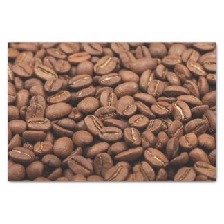 Tissue Paper with roasted Arabica coffee beans