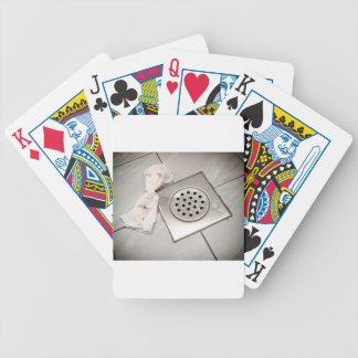 Tissues and blood bicycle playing cards