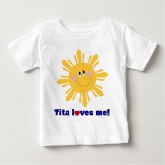 Tita loves me infant tee