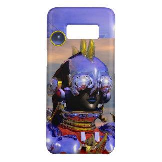 TITAN CYBORG,Blue Gem Science Fiction,Scifi Case-Mate Samsung Galaxy S8 Case
