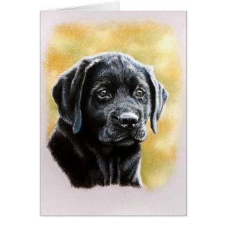 Titan Lab Puppy Greeting Card