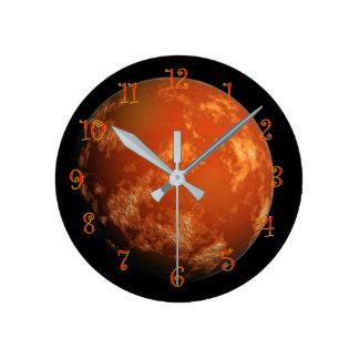 Titan Round Clock