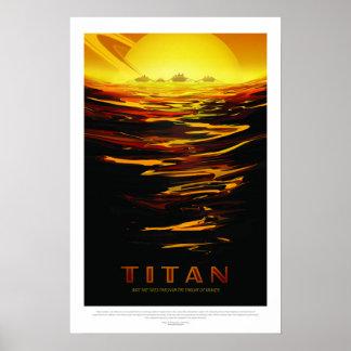 Titan, Travel Poster