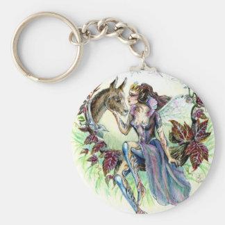 Titania and Bottom Key Ring
