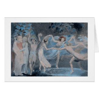 Titania, Oberon & Puck Card