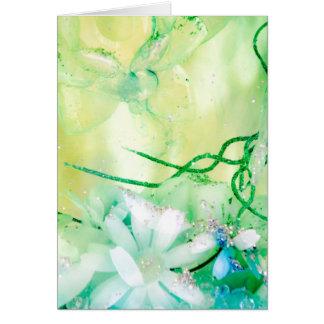 """""""Titania's Garden"""" collection Card"""