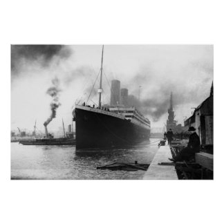 Titanic April 10, 1912 Poster