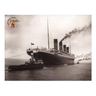 Titanic association Switzerland postcard 01
